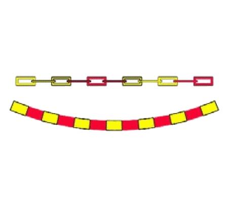 Ghirlandă polietilenă sau lanț