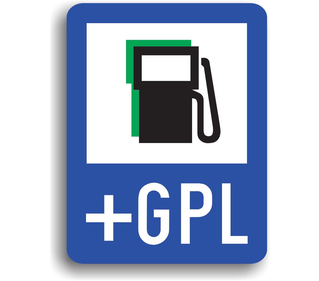 Stație de alimentare cu carburanți inclusiv benzină fără plumb și gaz petrolier lichefiat