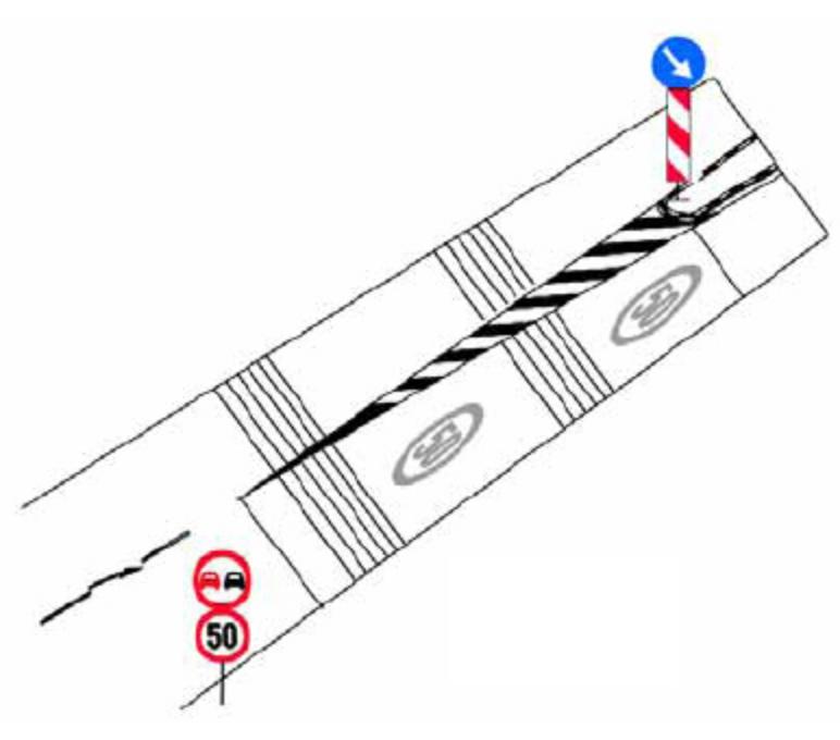 Benzi rezonatoare din marcaj rutier