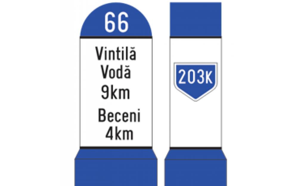 Indicatoare kilometrice