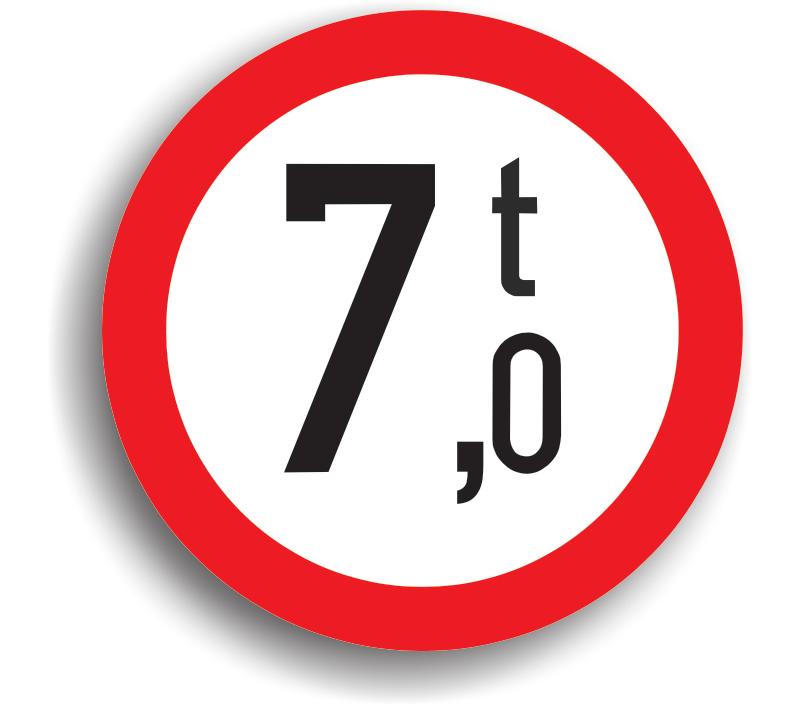 Accesul interzis vehiculelor cu masă mai mare de .. t