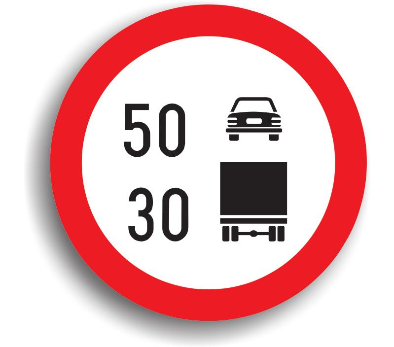 Limitare de viteză diferențiată pe categorii de autovehicule