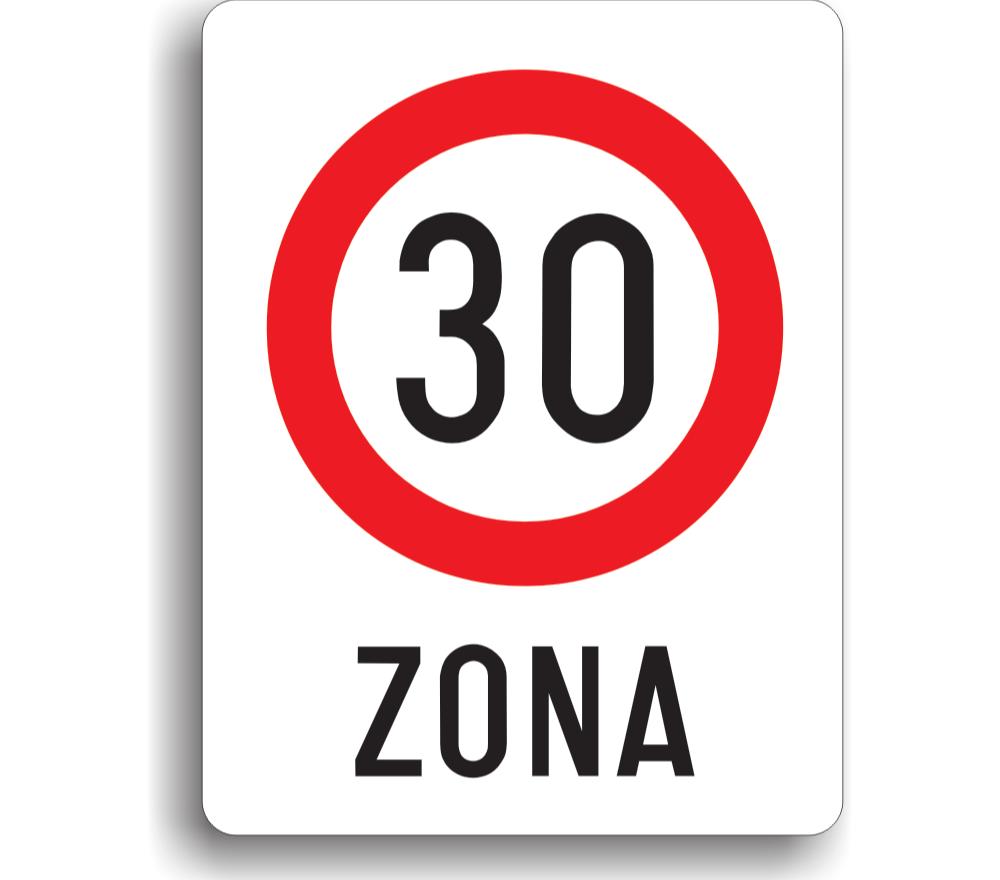 Zonă cu limitare de viteză la 30 km/h