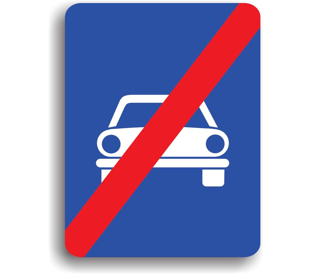 Sfârșitul drumului pentru autovehicule