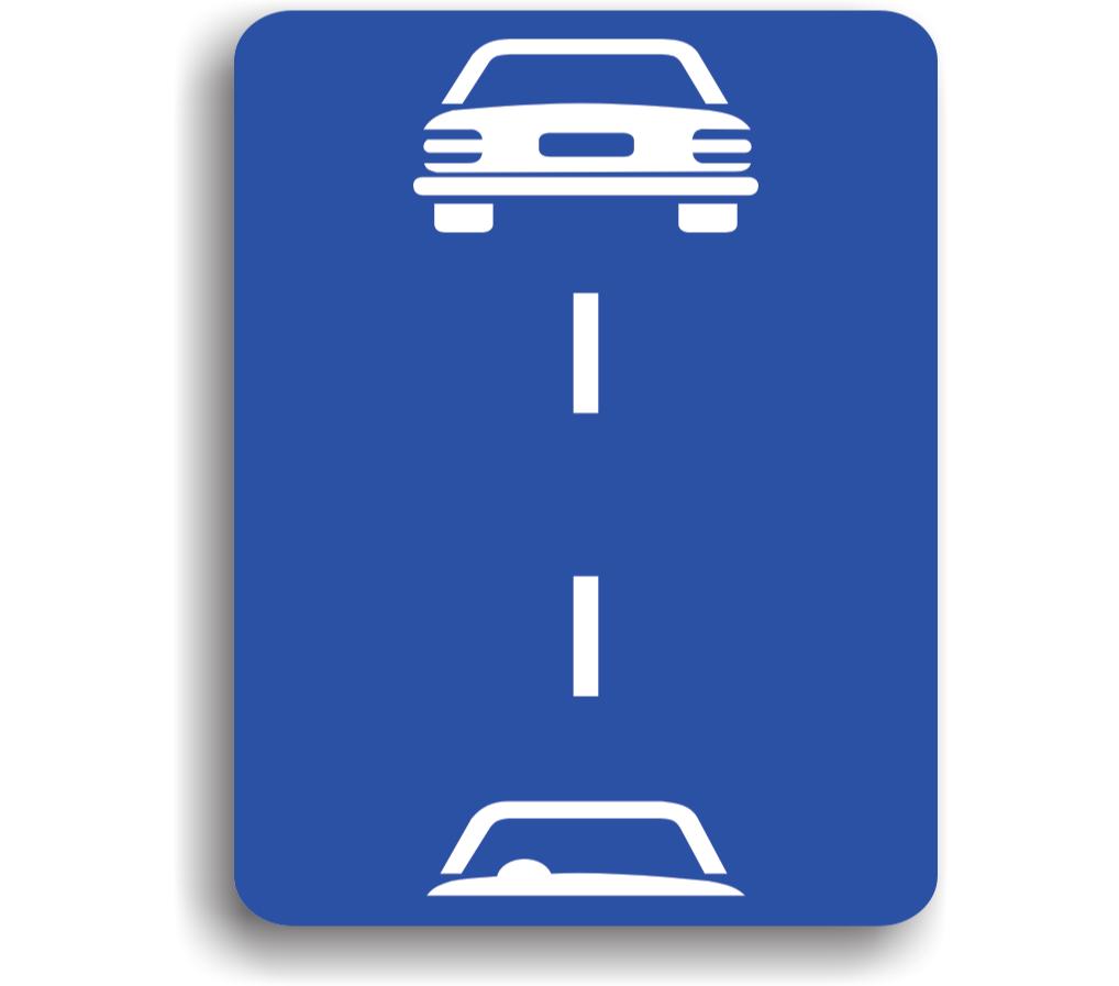 Distanța de siguranță între vehiculele pentru viteze de cel mult 60 km/h