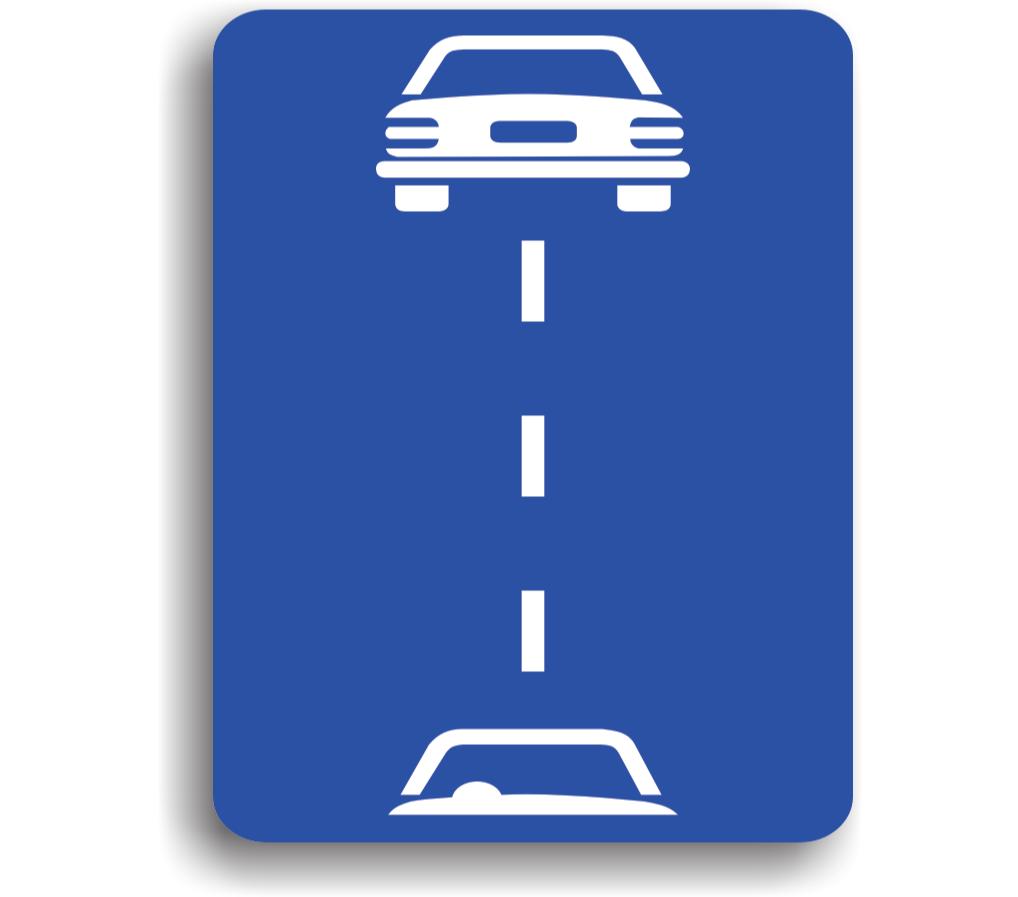 Distanța de siguranță între vehiculele pentru viteze mai maride  90 km/h