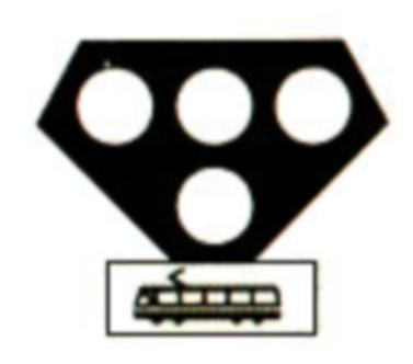 Semafor pentru tramvaie