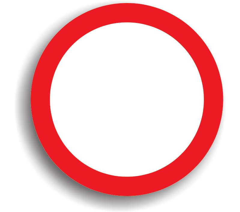 Circulația interzisă în ambele sensuri