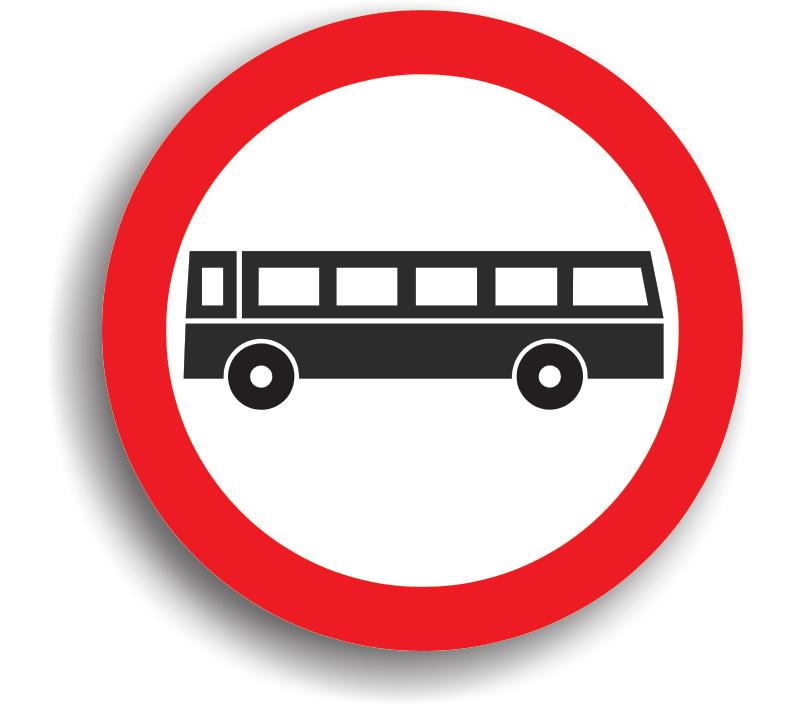 Accesul interzis autobuzelor